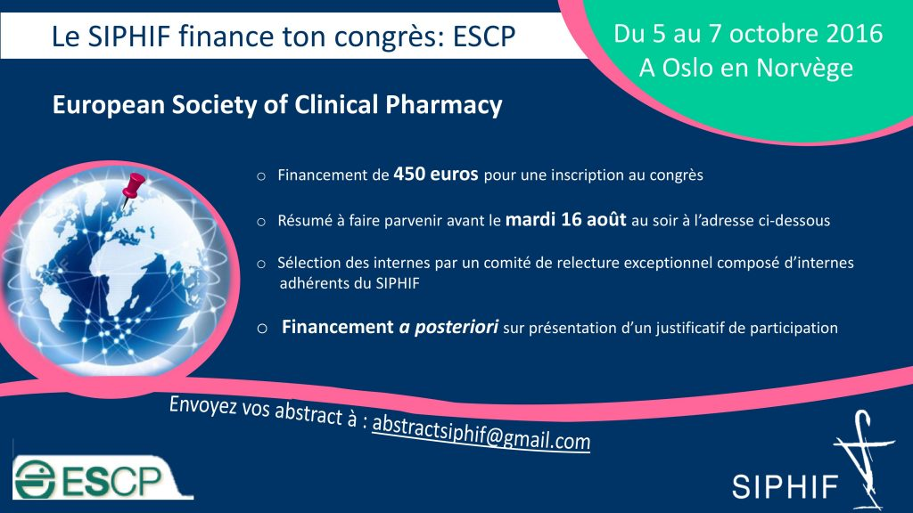 Financement ESCP 2016